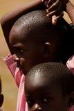 Enfants kenyans, Afrique Photos stock