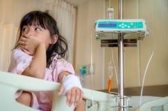 Enfants malades et médicaux Image stock