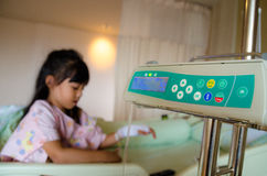 Enfants malades et médicaux Photo libre de droits
