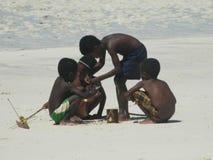 Enfants malgaches Images libres de droits