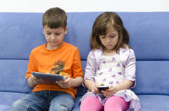 Enfants modernes Photographie stock