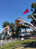 Enfants montant mamie rapide Smith Festival de fileur @ Photo libre de droits