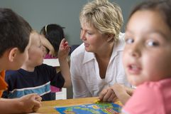 Enfants préscolaires Photos stock
