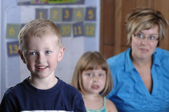 Enfants préscolaires Photo libre de droits