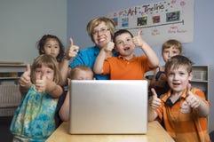 Enfants préscolaires Image libre de droits