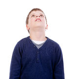 Enfants recherchant Photographie stock