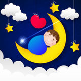 Enfants s de rêves doux Photo libre de droits