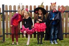 Enfants traditionnels de Halloween Images libres de droits
