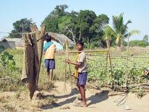 Enfants tribals indiens Images stock