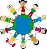 Enfants (vecteur) illustration stock