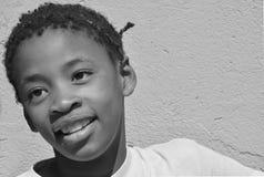 Enfants vivant dans le taudis de Mondesa Images libres de droits