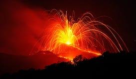 Enfer du feu Image libre de droits