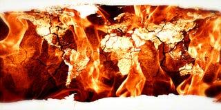 Enfer sur terre illustration de vecteur