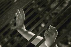 enfermé Photos libres de droits
