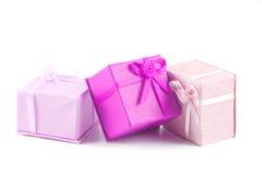 enferme dans une boîte le cadeau Photos stock
