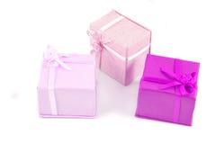 enferme dans une boîte le cadeau Photo stock