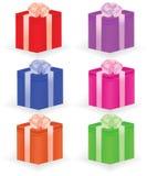 enferme dans une boîte le cadeau illustration libre de droits
