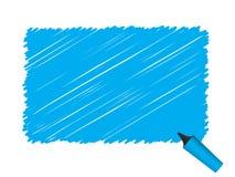 Enfermedad del vector de la pluma del garabato de Grunge Fotos de archivo