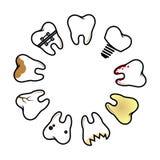 Enfermedad dental Foto de archivo libre de regalías
