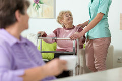 Enfermeira útil Imagem de Stock