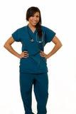 Enfermeira amigável Fotografia de Stock