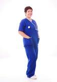 Enfermeira asiática fotografia de stock