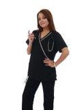 Enfermeira confiável foto de stock