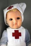 Enfermeira da boneca no uniforme Fotos de Stock Royalty Free
