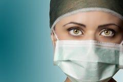 Enfermeira da sala de operações Foto de Stock Royalty Free