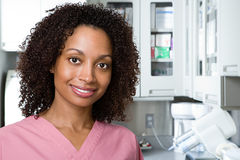 Enfermeira dental foto de stock