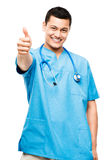 Enfermeira do médico fotografia de stock