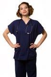 Enfermeira dos jovens imagem de stock
