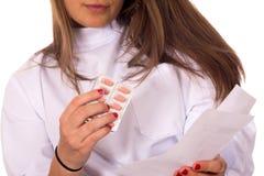Enfermeira dos jovens imagens de stock royalty free