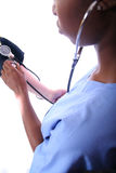 - Enfermeira - doutor médico Imagens de Stock