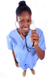- Enfermeira - doutor médico Foto de Stock