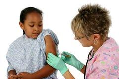 Enfermeira e paciente Foto de Stock Royalty Free