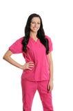 A enfermeira esfrega dentro Fotografia de Stock Royalty Free
