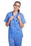 Enfermeira isolada fotos de stock royalty free