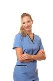 Enfermeira ou doutor foto de stock