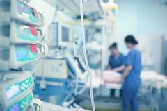 Enfermeiras de trabalho no CCU Imagens de Stock Royalty Free
