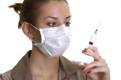 Enfermera Imagenes de archivo