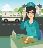 Enfermera Fotografía de archivo libre de regalías