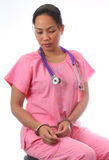enfermera Imágenes de archivo libres de regalías