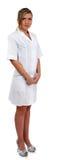 Enfermera agradable Foto de archivo libre de regalías