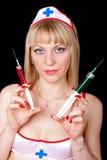 Enfermera atractiva Fotos de archivo