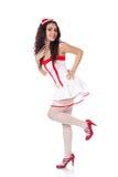Enfermera atractiva de los jóvenes Imágenes de archivo libres de regalías