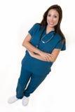 Enfermera cómoda Foto de archivo libre de regalías
