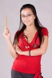 Enfermera de estudiante Fotografía de archivo