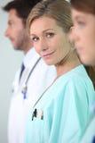 Enfermera de sexo femenino Imágenes de archivo libres de regalías