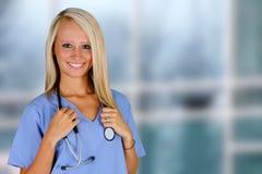 Enfermera de sexo femenino Fotos de archivo
